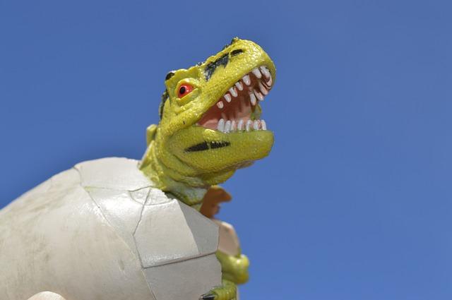 夢占い恐竜の卵