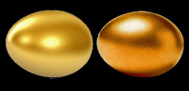 夢占い金の卵