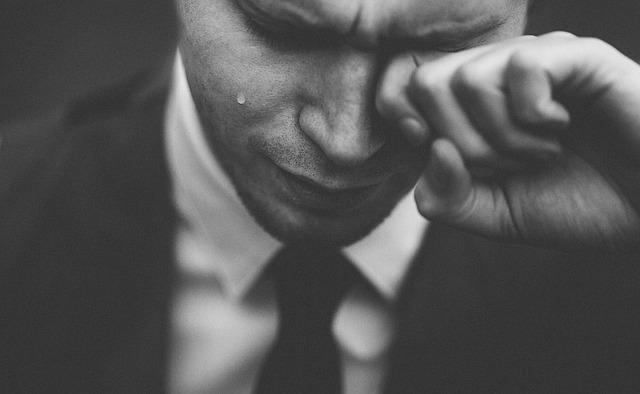 夢占い異性が泣く
