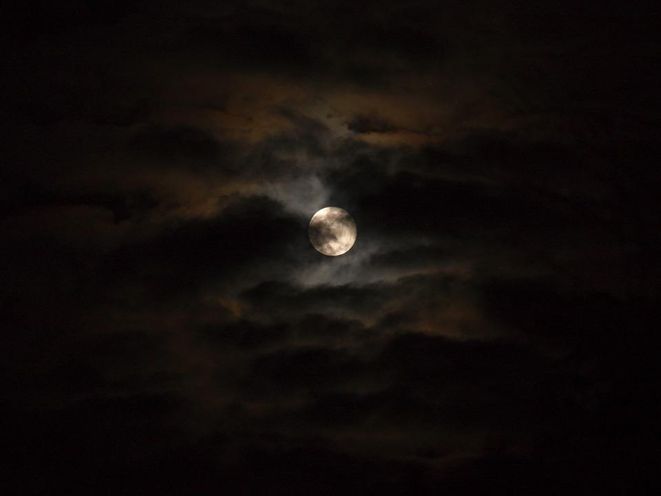 暗闇 夜空
