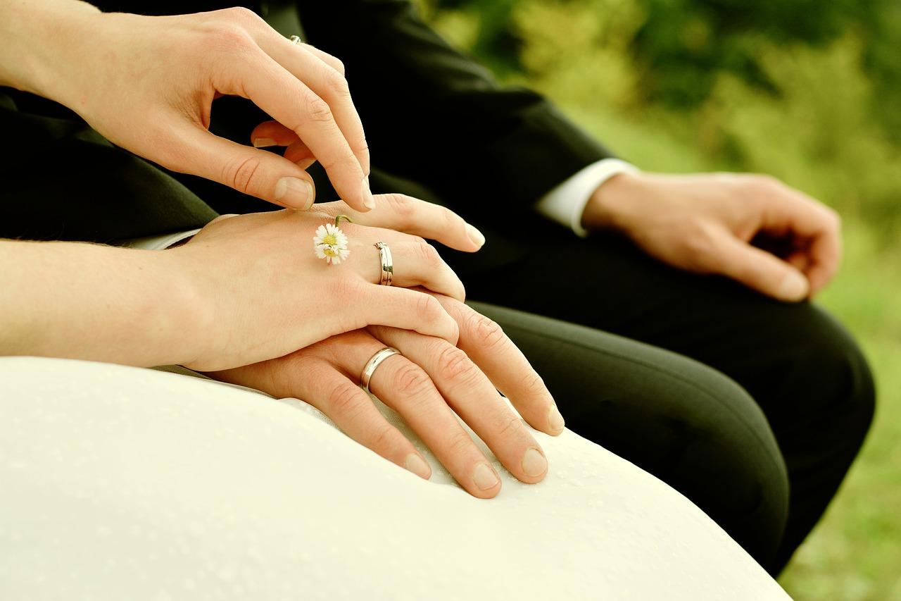 ニ黒土星の結婚