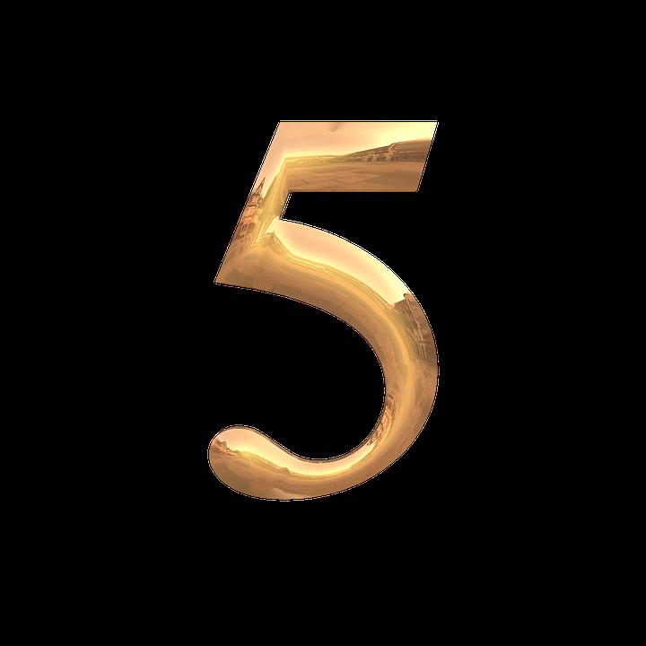 数秘術5の性格