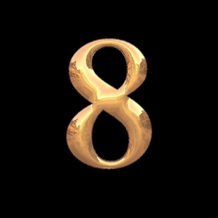 数秘術の8