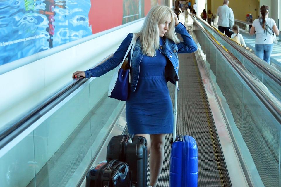 異性と空港に行く