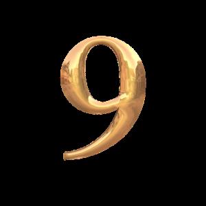 カバラ数秘術9の性格