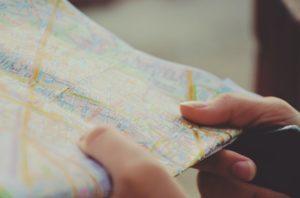 地図をもらう夢占い