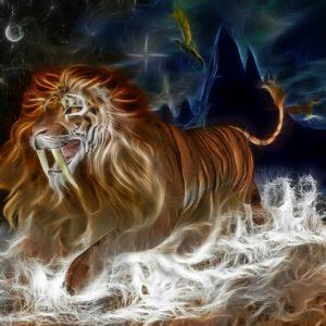 夢占い ライオン